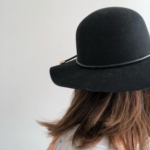 & Other Stories Black Felt Hat